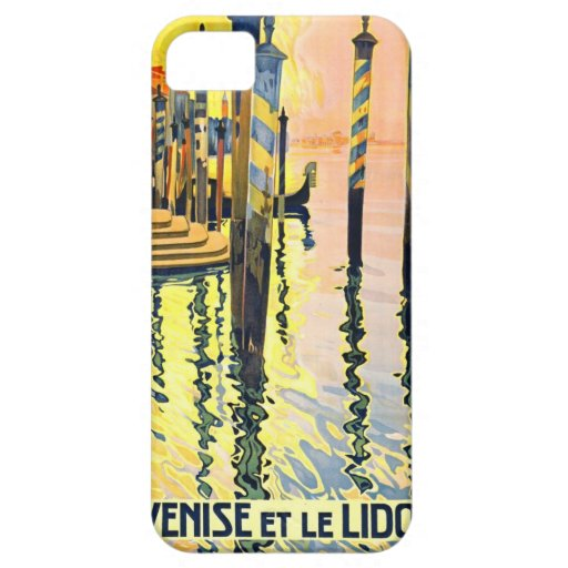 Italian Travel Poster 1920 iPhone 5/5S Covers