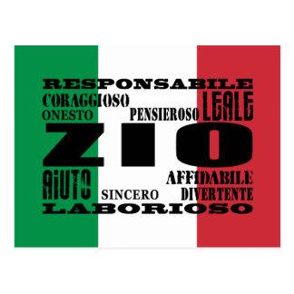 Italian Uncles : Qualities Postcard