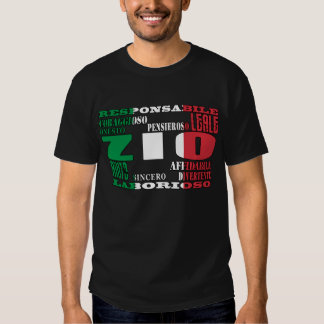 Italian Uncles : Qualities T Shirt