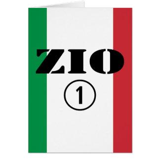 Italian Uncles : Zio Numero Uno Greeting Card