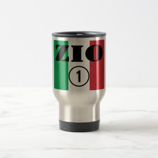 Italian Uncles : Zio Numero Uno Travel Mug