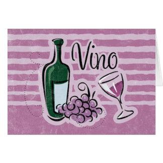 Italian Wine Card
