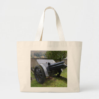 Italian World War Two Howitzer Tote Bag