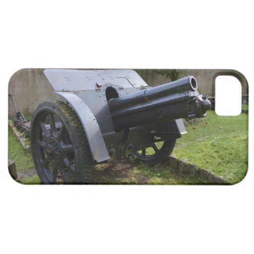 Italian World War Two Howitzer iPhone 5/5S Covers