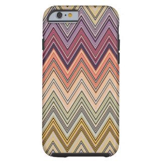 Italian Zig Zag Orange Blue Purple Cover