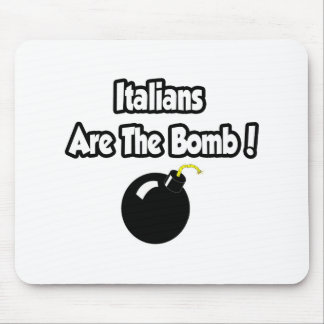 Italians Are The Bomb Mousepads