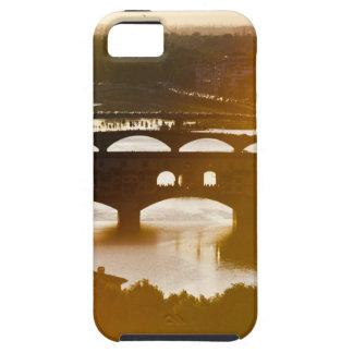 Italien, Florenz, Ponte Vecchio und der Arno an iPhone 5 Case