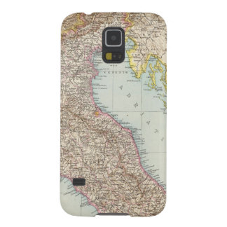 Italien nordliche Halfte, Map of North Italy Galaxy S5 Cover