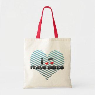 Italo Disco Tote Bag