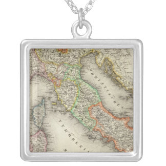 Italy 12 silver plated necklace