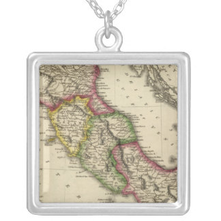 Italy 13 silver plated necklace