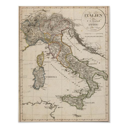 Italy 14 poster