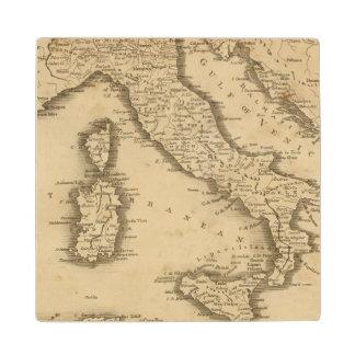 Italy 18 wood coaster