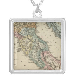 Italy 19 silver plated necklace