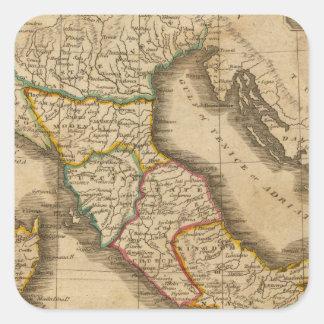 Italy 20 square sticker