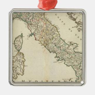 Italy 21 Silver-Colored square decoration