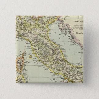 Italy 24 15 cm square badge