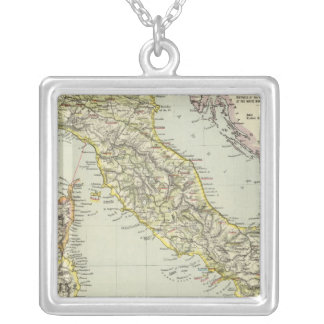 Italy 24 silver plated necklace