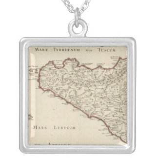 Italy 2 silver plated necklace
