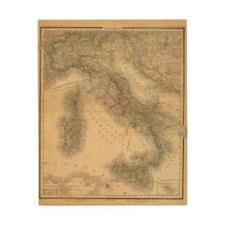 Italy 2 wood print