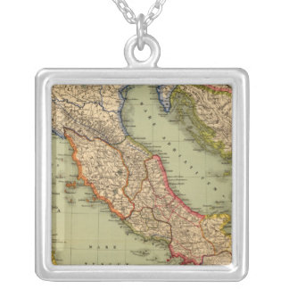 Italy 6 silver plated necklace