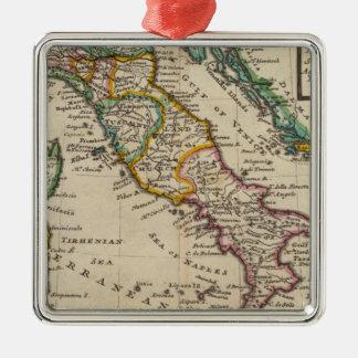 Italy 9 Silver-Colored square decoration