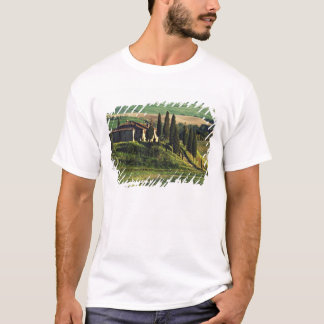Italy. A pastoral Tuscany villa in Val d'Orcia. T-Shirt