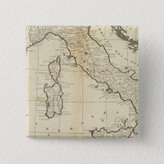 Italy and Sardinia 15 Cm Square Badge