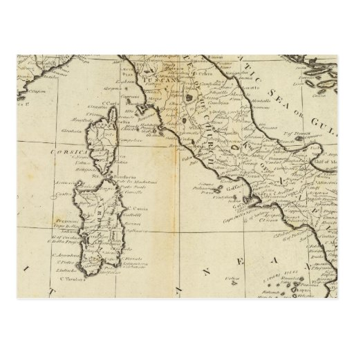 Italy and Sardinia Post Card