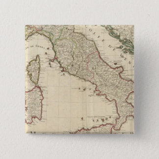 Italy and Slovenia 2 15 Cm Square Badge