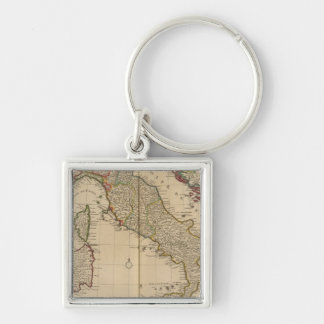 Italy and Slovenia Key Ring