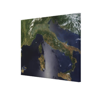 Italy and Southeast France Canvas Print