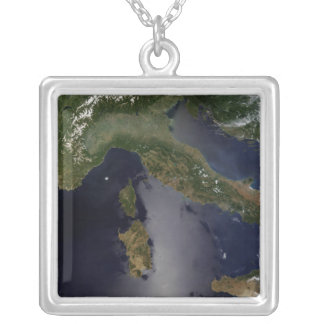 Italy and Southeast France Silver Plated Necklace