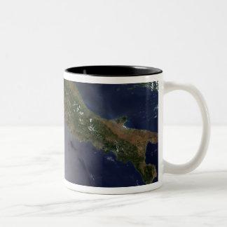 Italy and Southeast France Two-Tone Coffee Mug