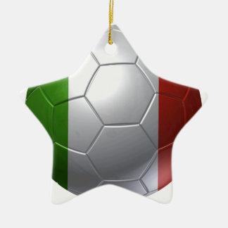 Italy ball ceramic star decoration