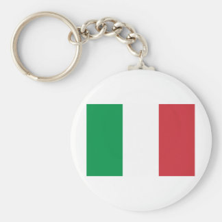 Italy Basic Round Button Key Ring