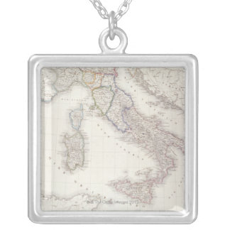 Italy Before Unification Silver Plated Necklace