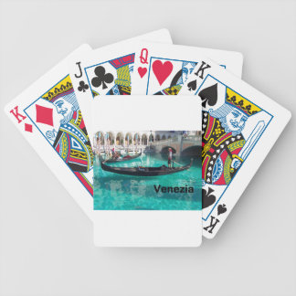 Italy Bella Venezia! (St.K) Bicycle Playing Cards