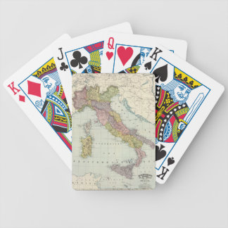 Italy. Bicycle Playing Cards