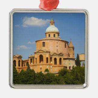 Italy, Bologna, Sunny Day with Portico di San Christmas Ornament