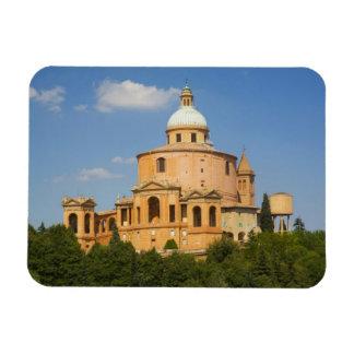 Italy, Bologna, Sunny Day with Portico di San Flexible Magnet