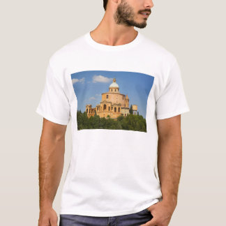 Italy, Bologna, Sunny Day with Portico di San T-Shirt