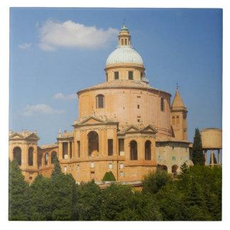 Italy, Bologna, Sunny Day with Portico di San Tile