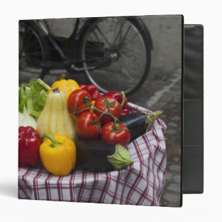 Italy, Brescia Province, Gargnano. Table with Binder