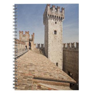 Italy, Brescia Province, Sirmione. Castello 4 Notebook