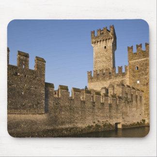 Italy, Brescia Province, Sirmione. Castello Mouse Pad