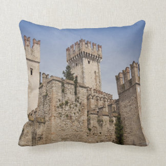 Italy, Brescia Province, Sirmione Throw Pillow