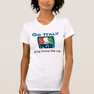 Italy bring home the cup t-shirts