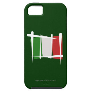 Italy Brush Flag Case For The iPhone 5