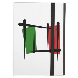 Italy Brush Flag iPad Air Case